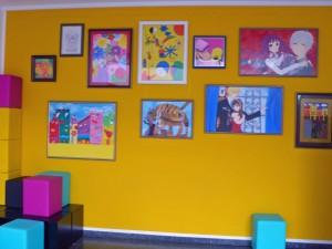 Unsere Schule legt großen Wert auf eine gute Erziehung im künstlerischen Bereich!